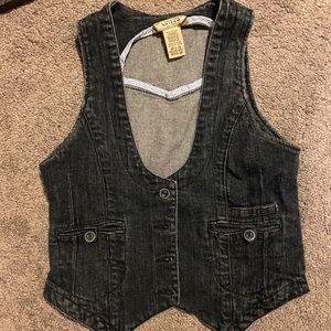 3/$10 Kids Denim Vest